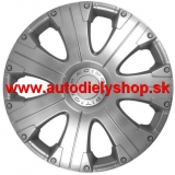 "Puklice 16"" chrom 4 ks Racing"